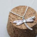 Dragonfly Pendant Necklace..