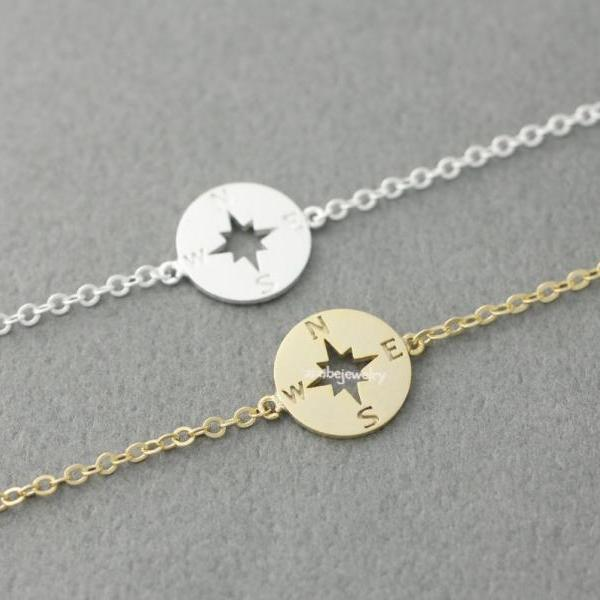 Compass Bracelet in 2 colors, B0390G